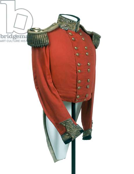 Major-general's full dress coatee worn by HRH George William Frederick Charles, 2nd Duke of Cambridge, 1850 circa (fabric)