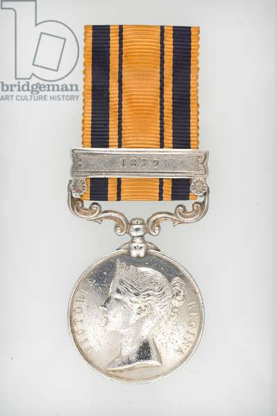 South Africa Medal for Zulu and Basuto Wars 1877-79, Private Francis FitzPatrick, 94th Regiment of Foot (metal)