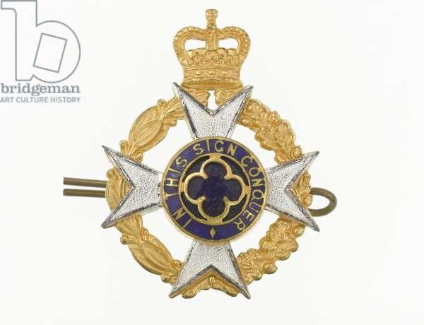 Cap badge, c.1953-84 (metal)
