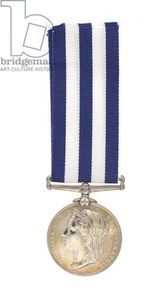Egyptian Campaigns Medal 1882-89, Major General Euston Henry Sartorius, 59th (2nd Nottinghamshire) Regiment (metal)