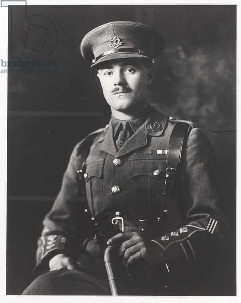 Captain Alfred Maurice Toye VC, MC, 2nd Battalion The Duke of Cambridge's Own (Middlesex Regiment), 1918 (b/w photo)