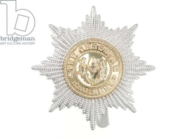 Cap badge, c.1970 (anodised aluminium)