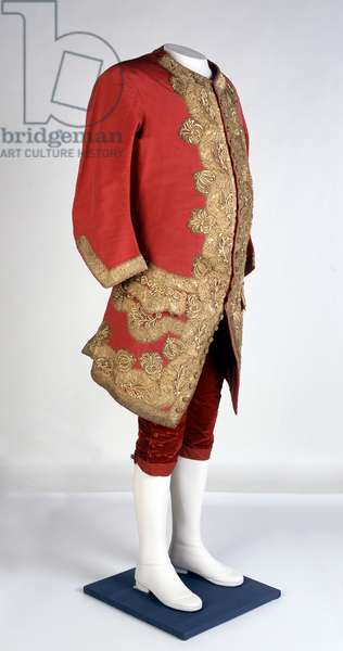 Waistcoat from the uniform of a French General Officer or Marshal 1690-1710   (fabric)
