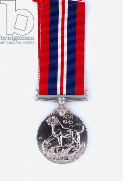 British War Medal 1939-45, Colonel J A Stafford Fearfield, Royal Signals and Force 136, Special Operations Executive (metal)
