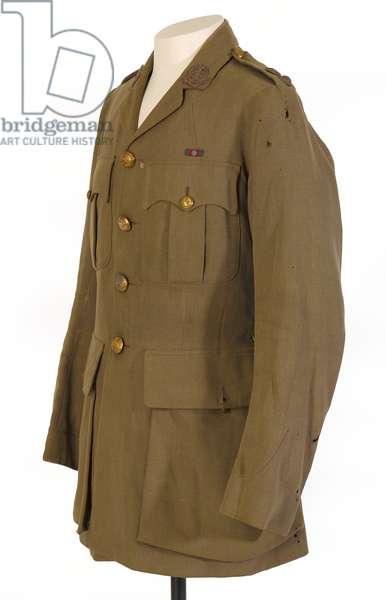Service dress tunic, pattern 1917, lieutenant-colonel Arthur Preston Hohler, The Duke of Cambridge's Own (Middlesex Regiment), c.1908-20 (tunic, service dress)