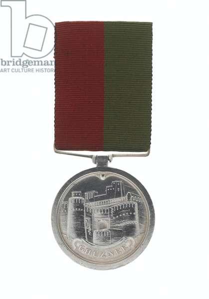 Ghuznee Medal 1839, Colonel Joseph Orchard, 1st Regiment of Bengal European Light Infantry (Ghuznee Medal 1839)