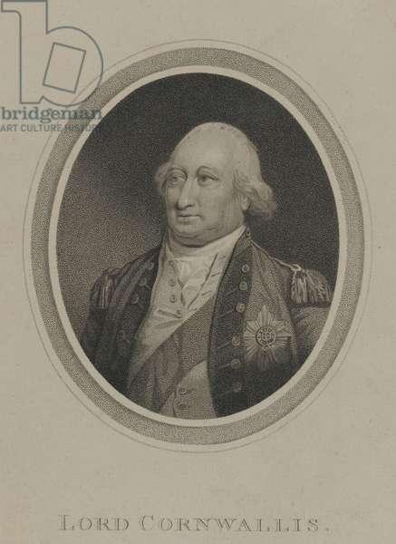 Lord Cornwallis, 1800 circa (stipple engraving)