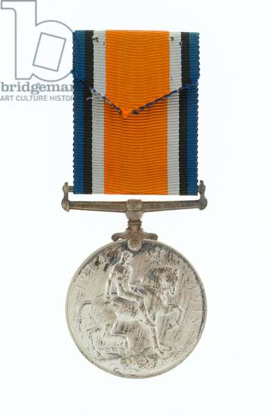 British War Medal 1914-20, awarded to A/Corporal William Cotter, 6th (Service) Battalion The Buffs (East Kent Regiment), 1916 (metal)
