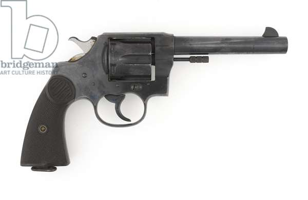 Colt New Service Eley .455 in revolver, c.1917 (photo)