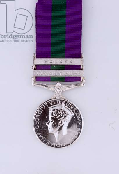 General Service Medal 1918-62, Colonel John Anthony Stafford Fearfield, Royal Signals (metal)