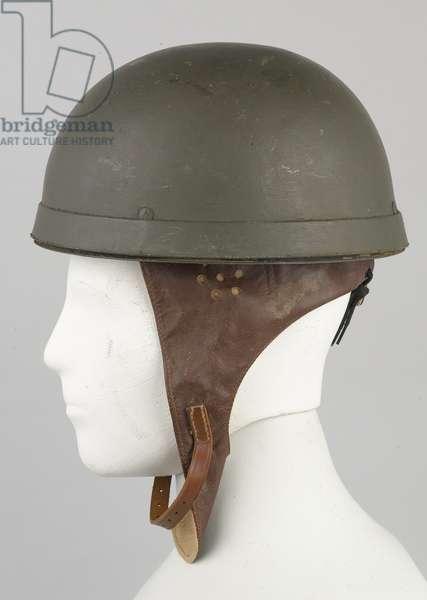 Despatch rider's helmet, Royal Army Service Corps, 1942 (helmet)
