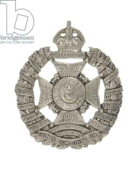 Cap badge, c.1927 (metal)