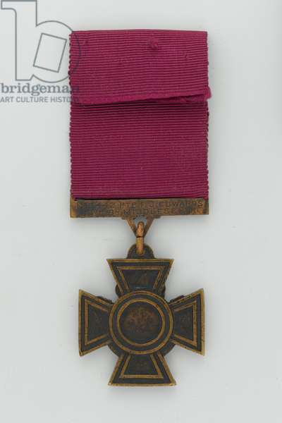 Victoria Cross, Private Frederick Edwards, Duke of Cambridge's Own (Middlesex Regiment), 1916 (metal)
