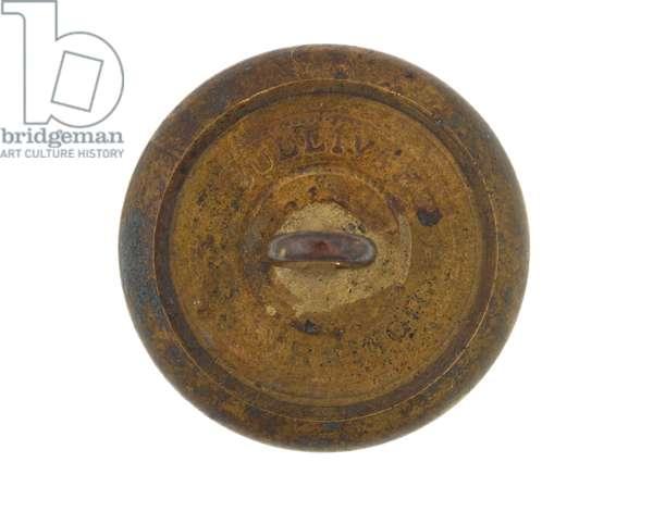 Button, Calcutta Volunteer Rifles, pre-1901 (brass)