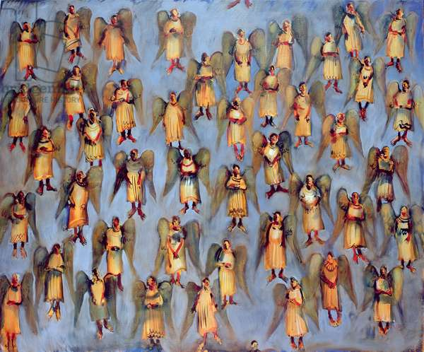 Angels, 2006 (oil on canvas)