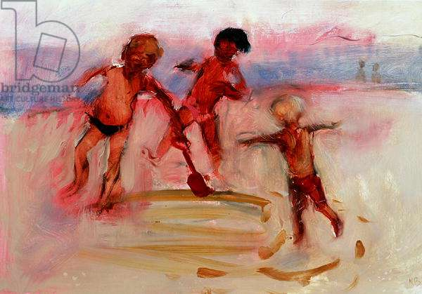 Running Around in Circles, 2006 (oil on paper)