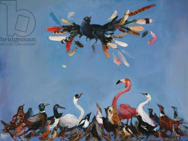 King of the Birds. 2007 (oil on linen)