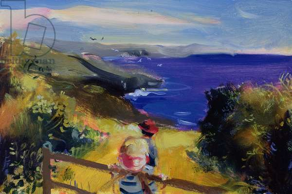 The Path to the Beach, 2006 (oil on board)