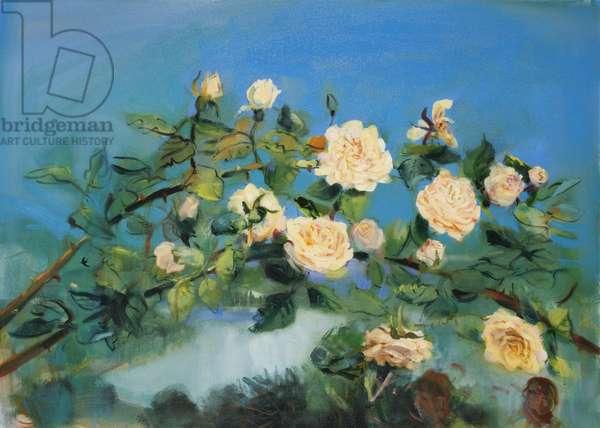 Loe Bar Roses, 2007 (oil on linen)