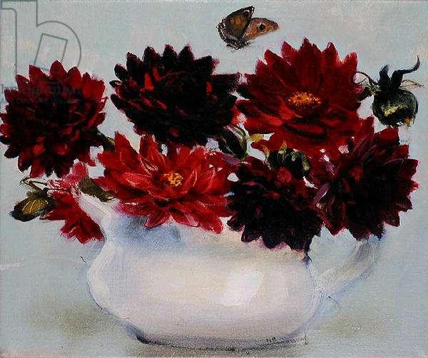 Black Dahlia, 2006 (oil on canvas)
