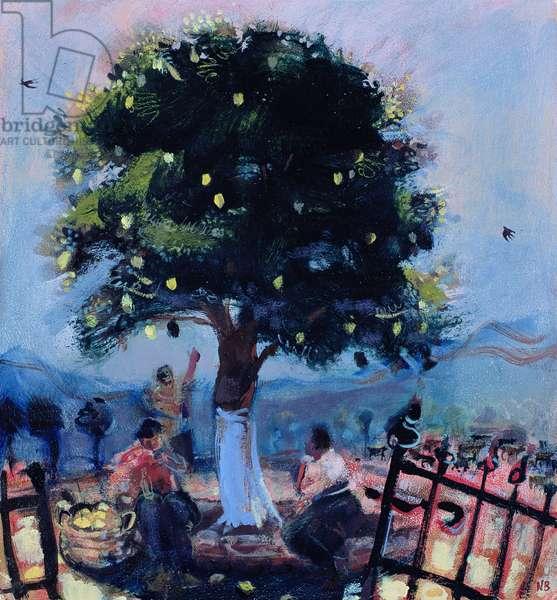 The Lemon Tree, 2006 (oil on board)