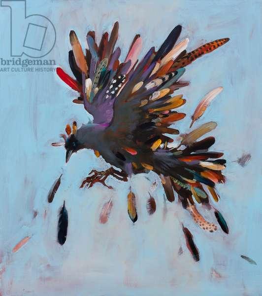 King of the Birds, 2013, (oil on linen)