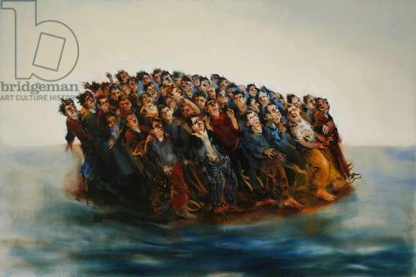 Crowded Island, East Wind, 2006 (oil on linen)