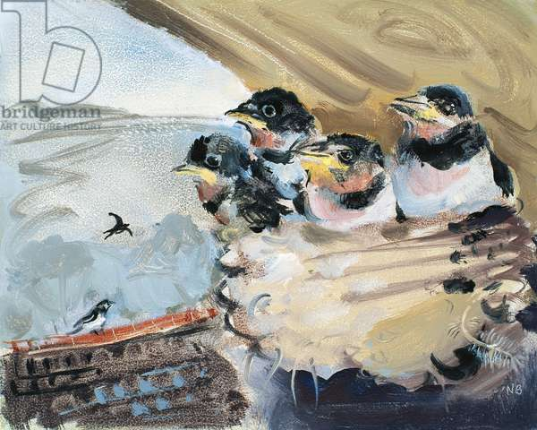 The Swallow's Nest, 2006 (oil on board)