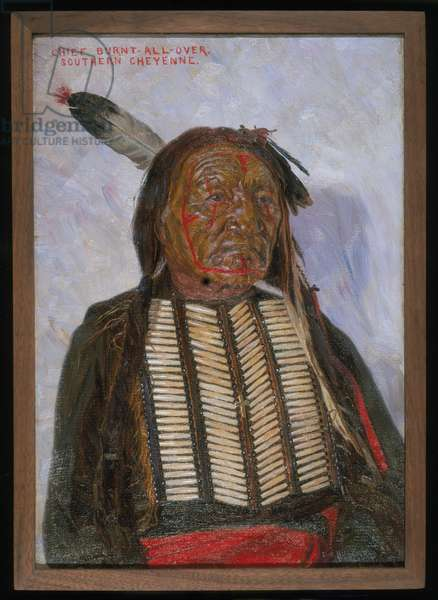 Chief Burnt-All-Over, 1898 (oil on canvas)