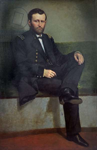 General Ulysses S. Grant (oil on canvas)