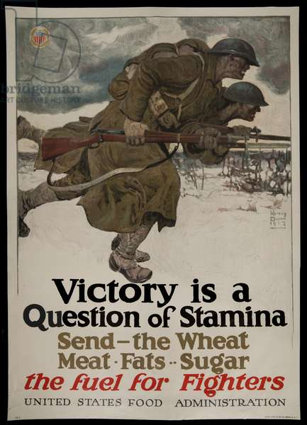 Victory is a Question of Stamina, 1917 (poster)