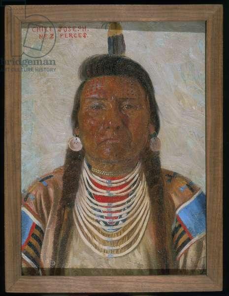 Chief Joseph, 1897 (oil on canvas)