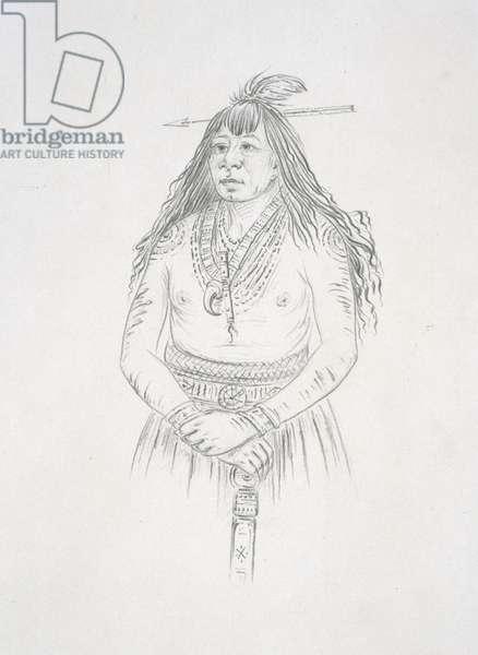 Bon son jee (New Fire) 1852 (pencil on paper)