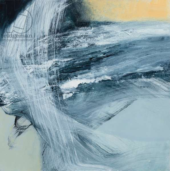 Eternal Tide, 2019 (mixed media on paper)