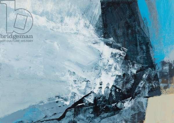Elements - Break the Tide, 2019 (mixed media on paper)