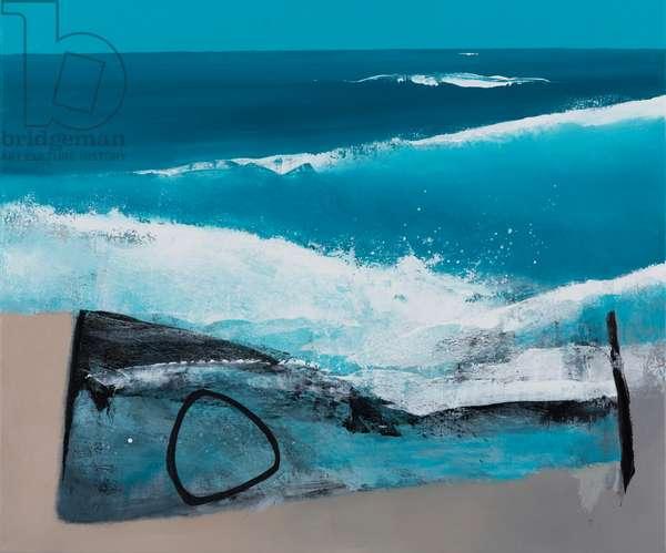 Surf Break, 2014 (mixed media on canvas)