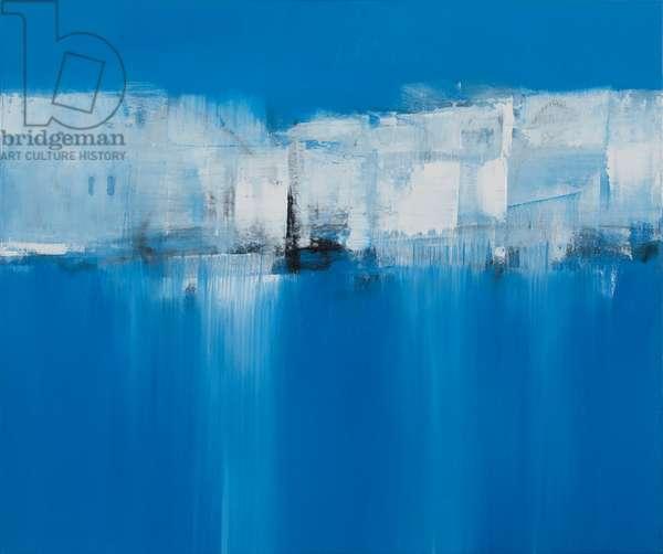 Aegean Blue, 2017 (oil on canvas)