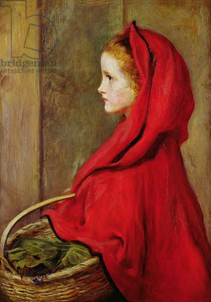 Red Riding Hood (oil on panel)