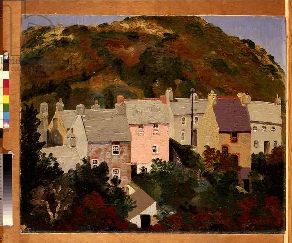 Solva, 1934 (oil on canvas)