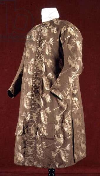 Gold brocade coat, c.1700-10