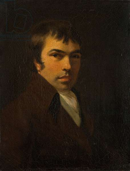 Portrait of John Crome (1768-1821) (oil on canvas)