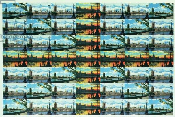 Westminster Flag, 1981 (postcard montage)
