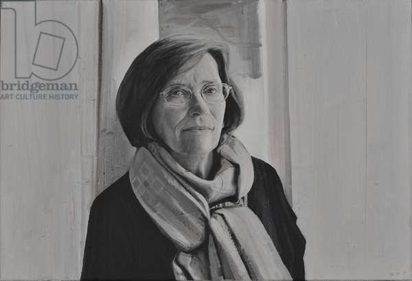 Professor Dame Hermione Lee, 2013 (oil on canvas)