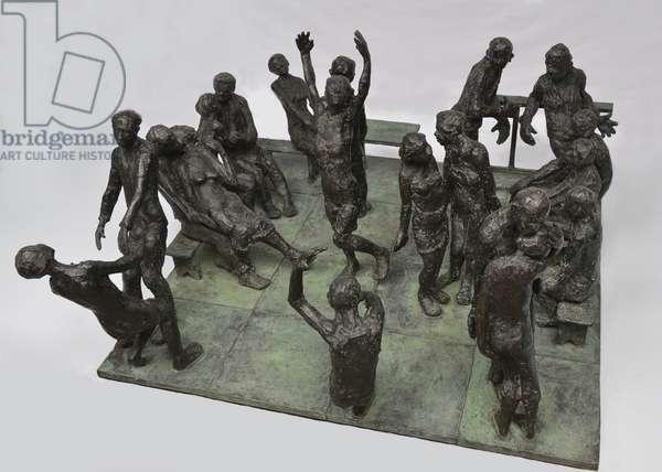 Dance, 1975-95 (bronze)