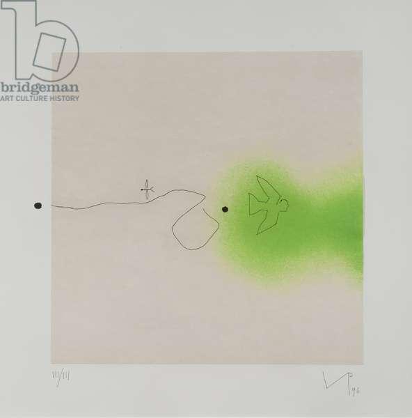 Untitled, 1996 (colour litho)
