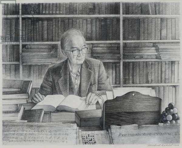George Forrest Wykeham, 1994 (pencil on paper)