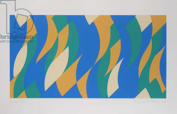 Frieze, 2000 (screenprint)