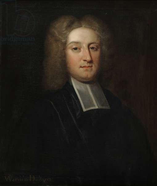 Warden John Dobson (oil on canvas)
