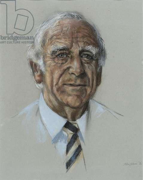 Sir Roger Elliot, 1996 (pastel on paper)