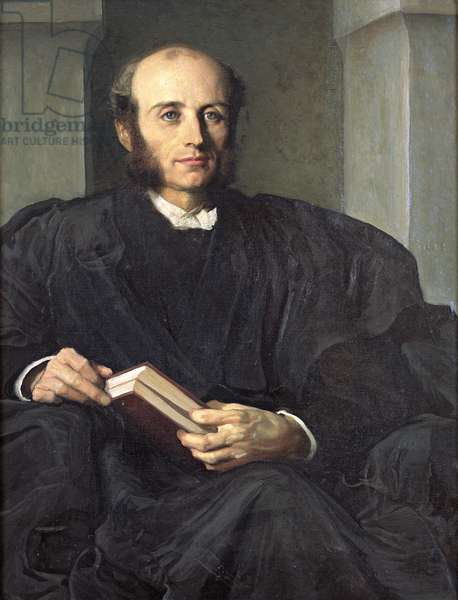 Edward Charles Wickham (oil on canvas)